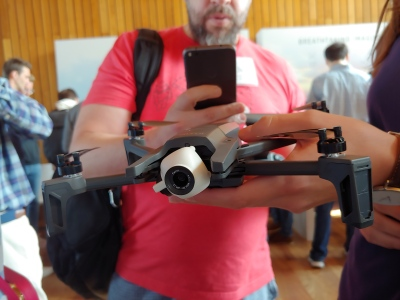 Parrot updates Anafi drone with new HDR and panorama