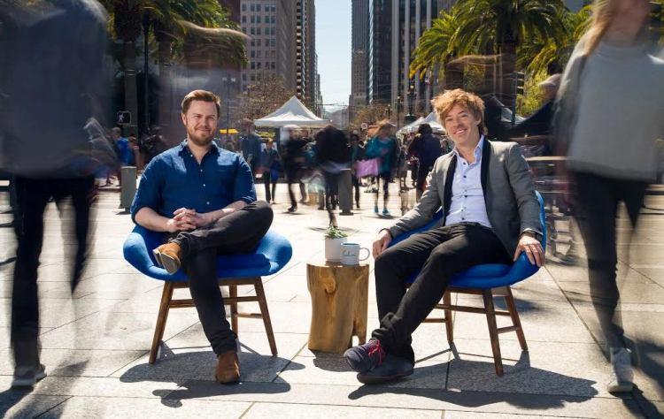 Calm founders: Alex Tew and Michael Acton Smith