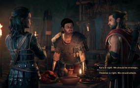 Assassin's Creed: Odyssey gives players choices throughout its story.