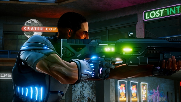 Crackdown 3 Agent Marshall