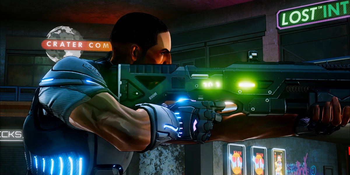 Crackdown 3 Agent Marshall