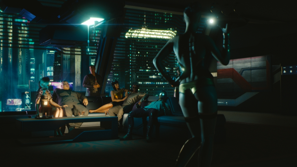 Cyberpunk 2077 has some amazing details.