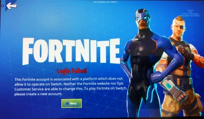 epic can t fix - fortnite share play