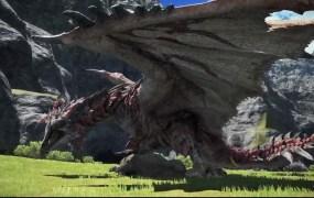 Final Fantasy x Monstr Hunter World.