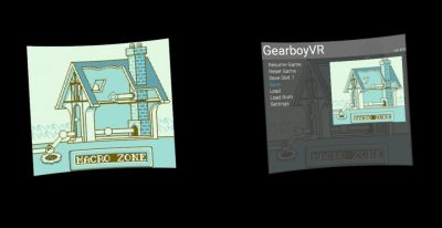 Game Boy emulator Gearboy has an Oculus Go port | VentureBeat