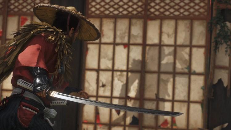 Ghost of Tsushima sword sneak.