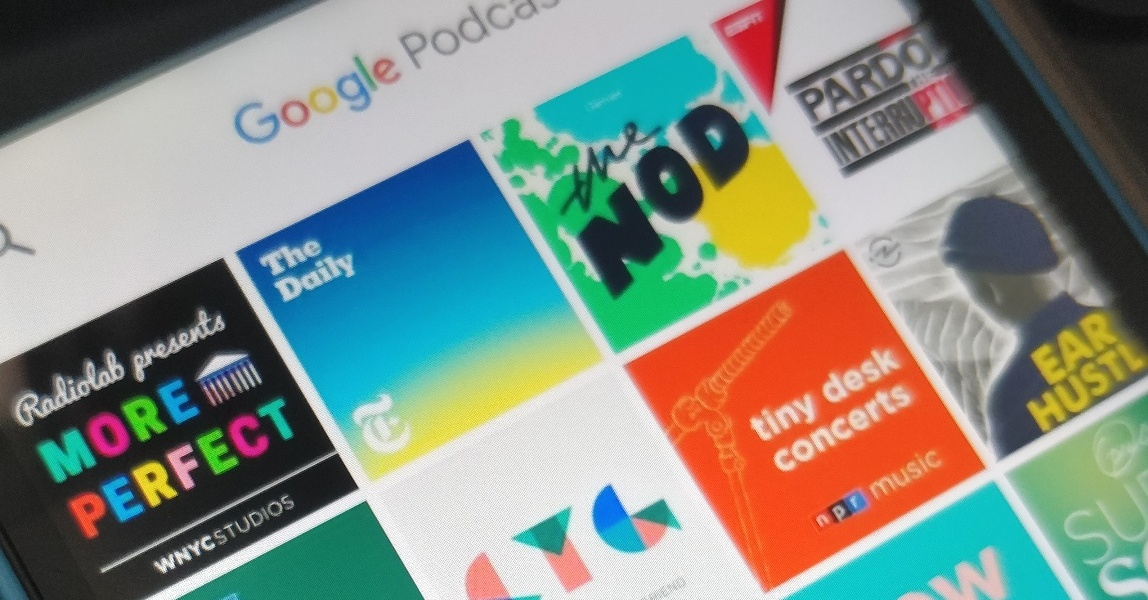 Google Podcasts app