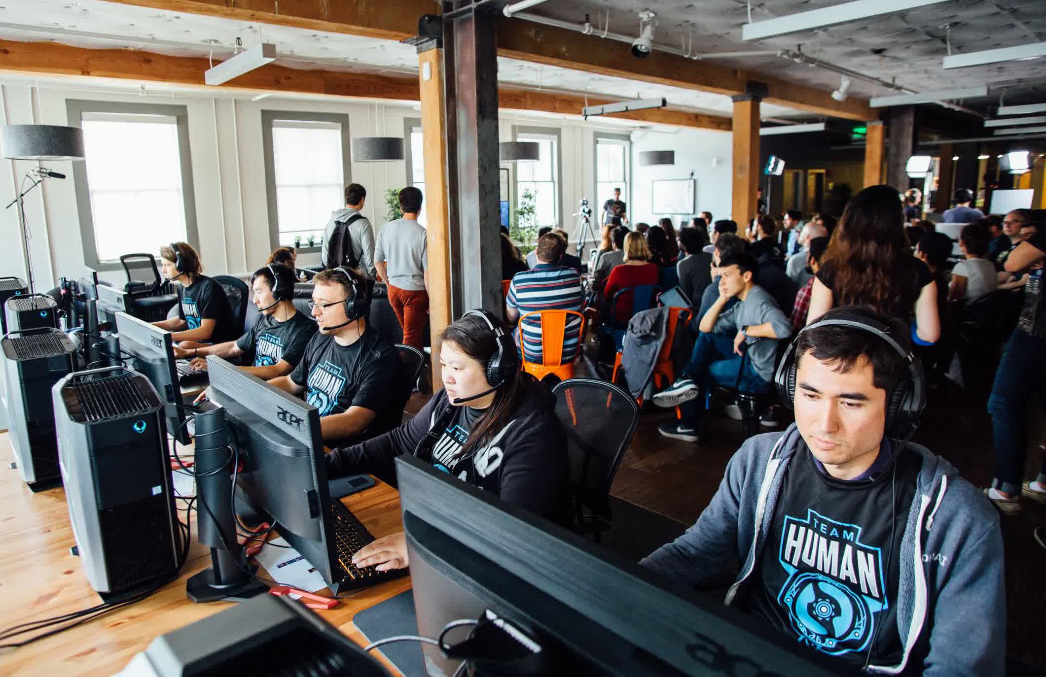 AI Bots Seek to Beat Top Human Players at Dota 2