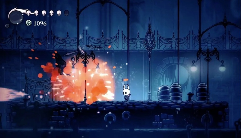 Hollow Knight.