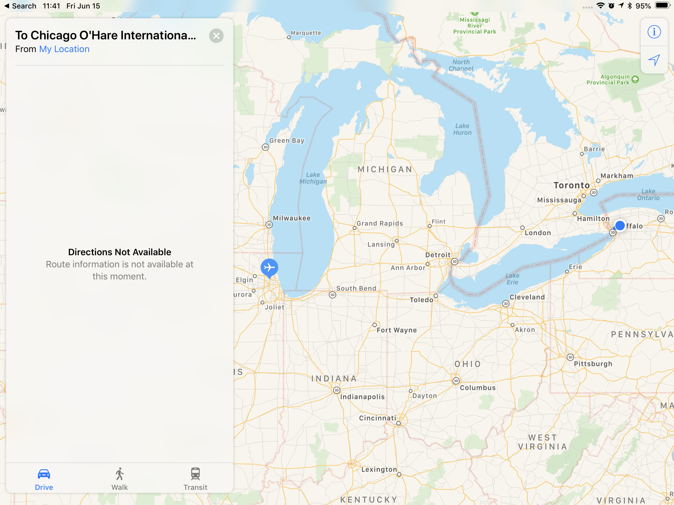 Apple Maps is more broken than usual