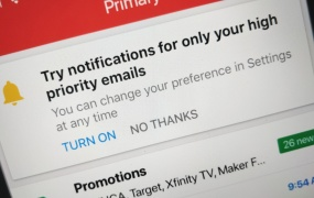 Gmail: High-priority notifications (iOS)