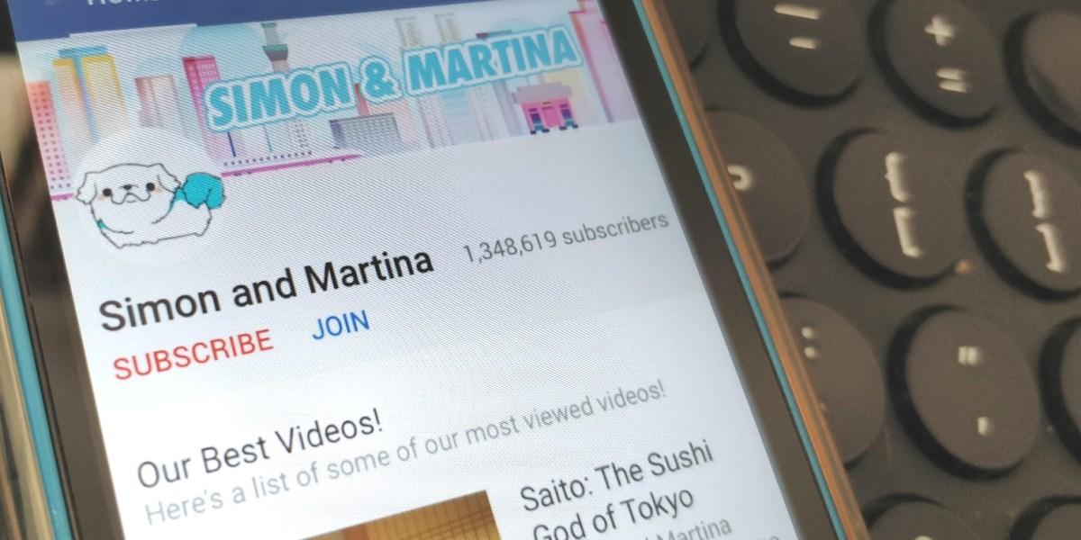 YouTube: Simon & Martina -- Join!