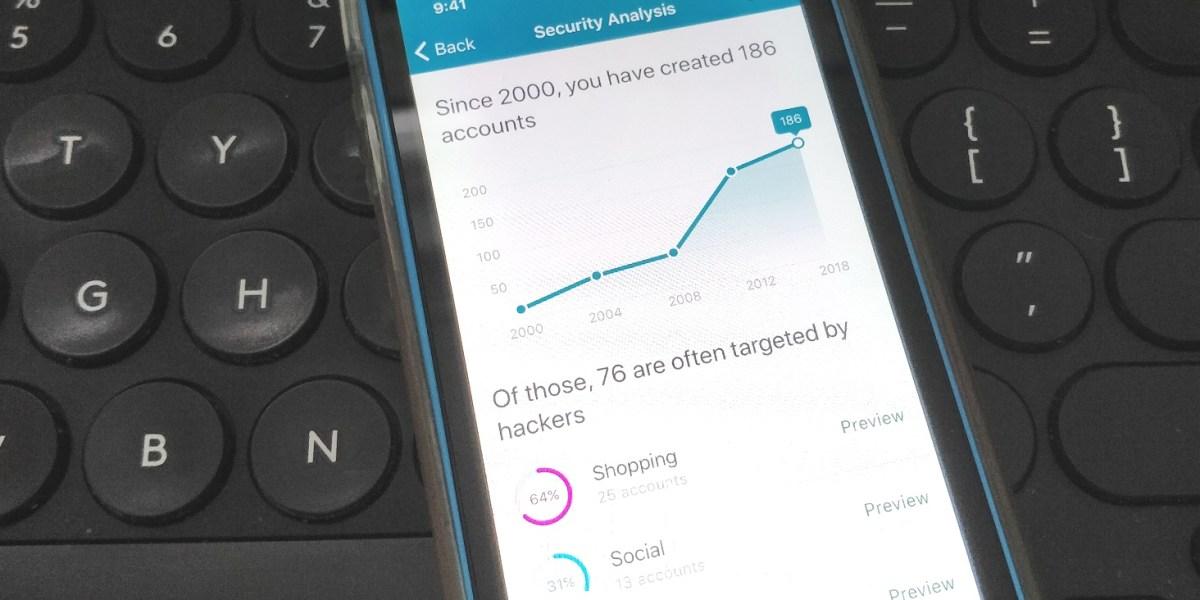 Dashlane: Inbox security scan