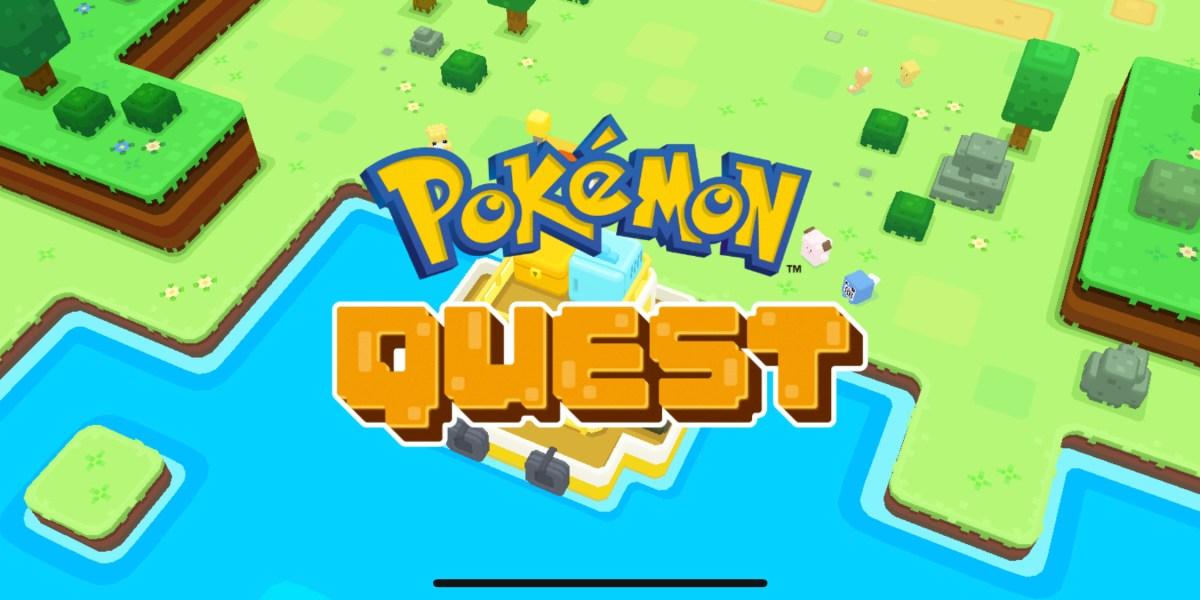 Pokemon Quest for iOS.
