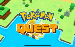 Pokemon Quest for iOS.