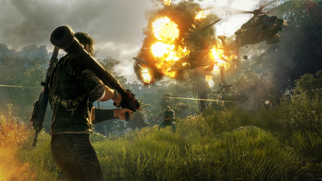 Just Cause 4 Rocket Helicopter