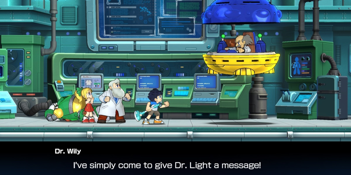 Mega Man 11 brings the whole gang back.