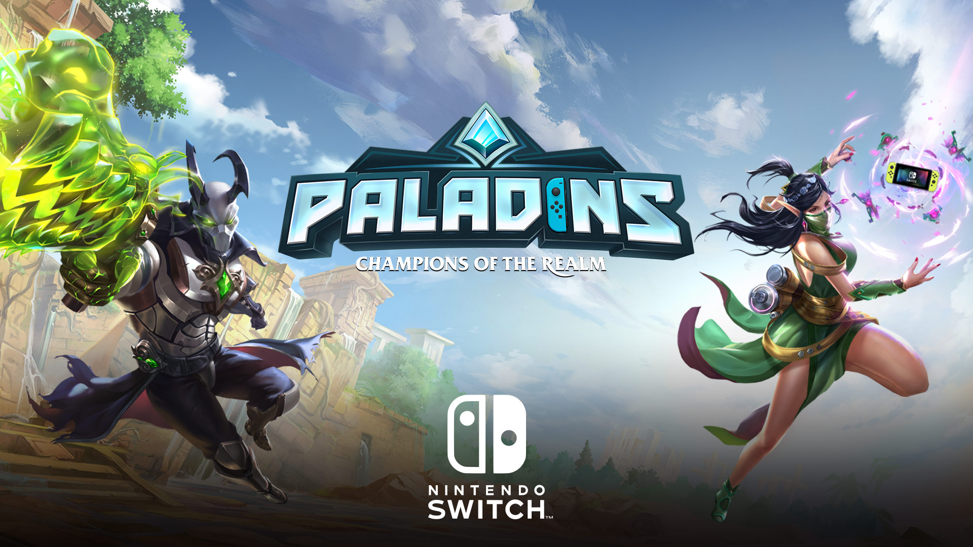 Paladins Is Coming To Nintendo Switch And Looks Fantastic