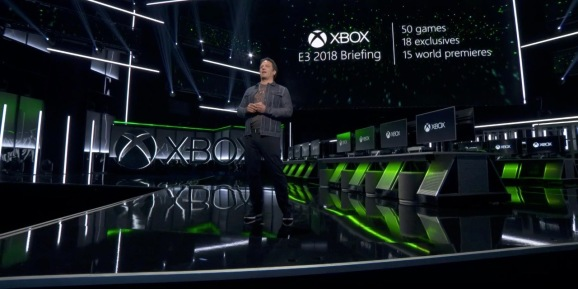 Phil Spencer at E3 2018.