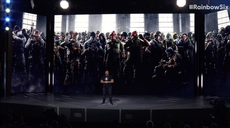 Rainbow Six Siege E3 2018