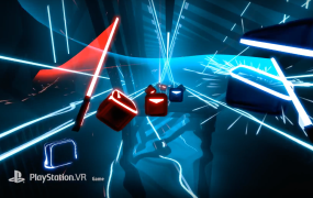 Beat Saber is coming to PSVR later this year.
