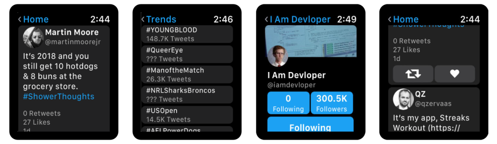 Chirp brings Twitter back to Apple Watch | VentureBeat