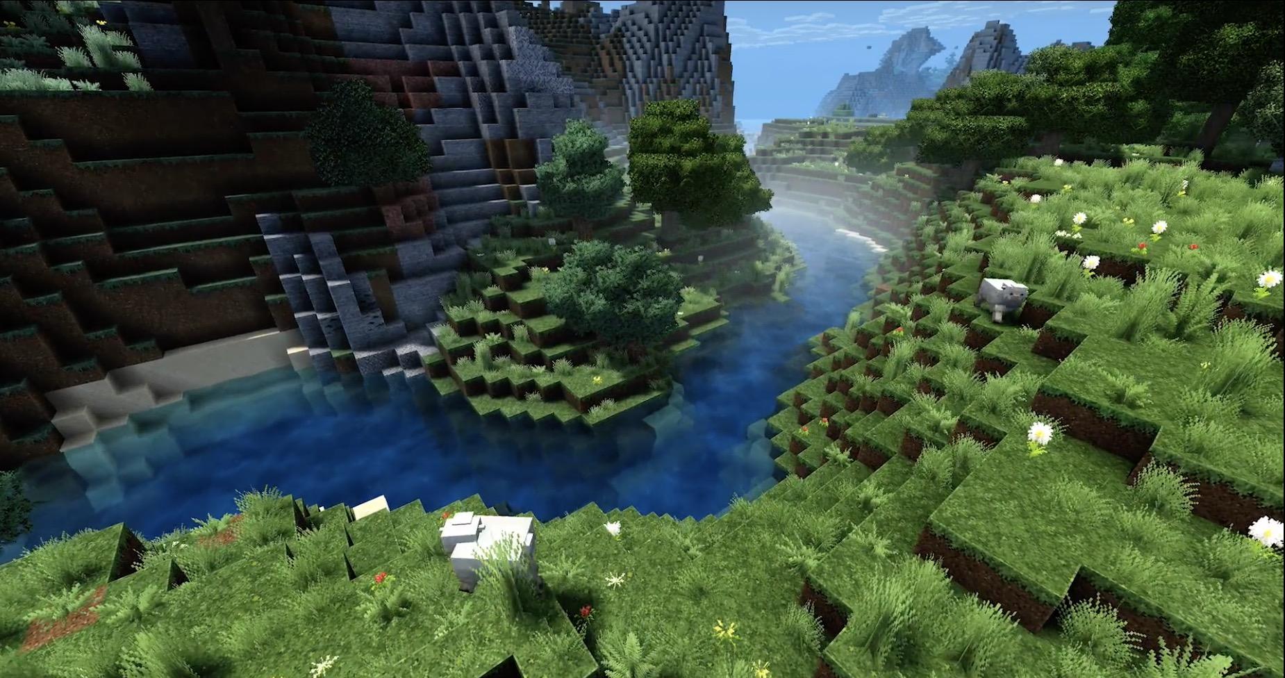 Minecraft team puts Super Duper Graphics on blocks: It's