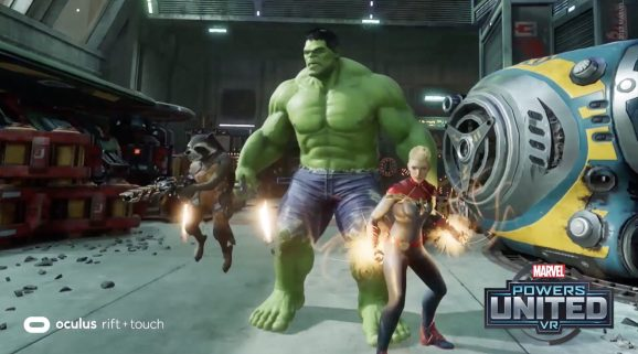 Marvel Powers United VR for Oculus Rift.