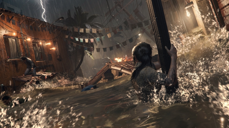 Shadow of the Tomb Raider The Flood Water Screenshot