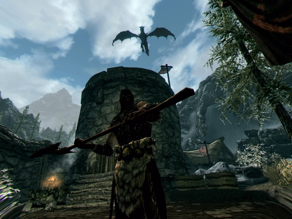 Skyrim PSVR patch improves PS4 Pro graphics and Move controls