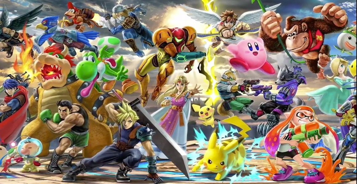Every character is coming to Smash Bros. on Switch.