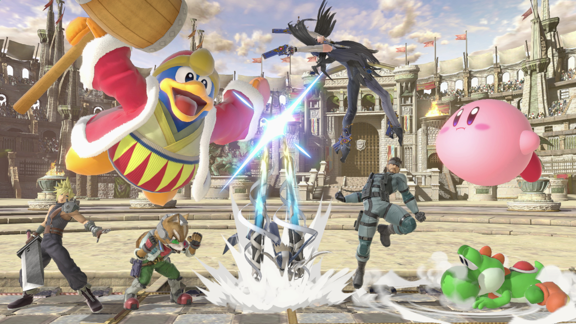Nintendo Announces Open Super Smash Bros Ultimate And Splatoon 2