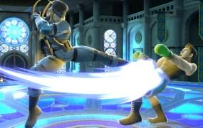 Super Smash Bros. in action.