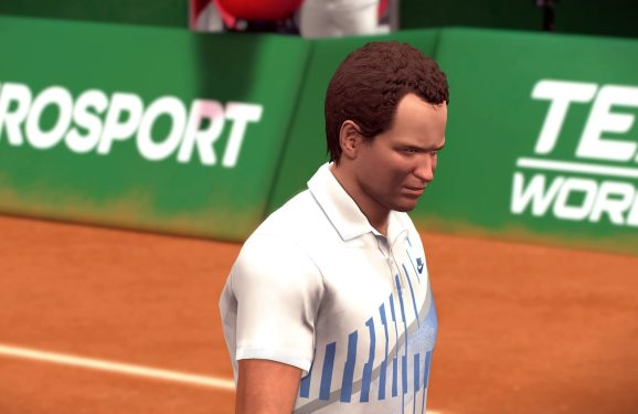 As games become easier to develop, soulless but pleasant-looking games are on the increase (Tennis World Tour, shown).