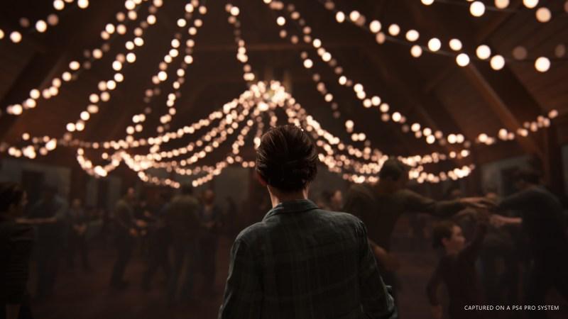 Ellie in The Last of Us Part II.