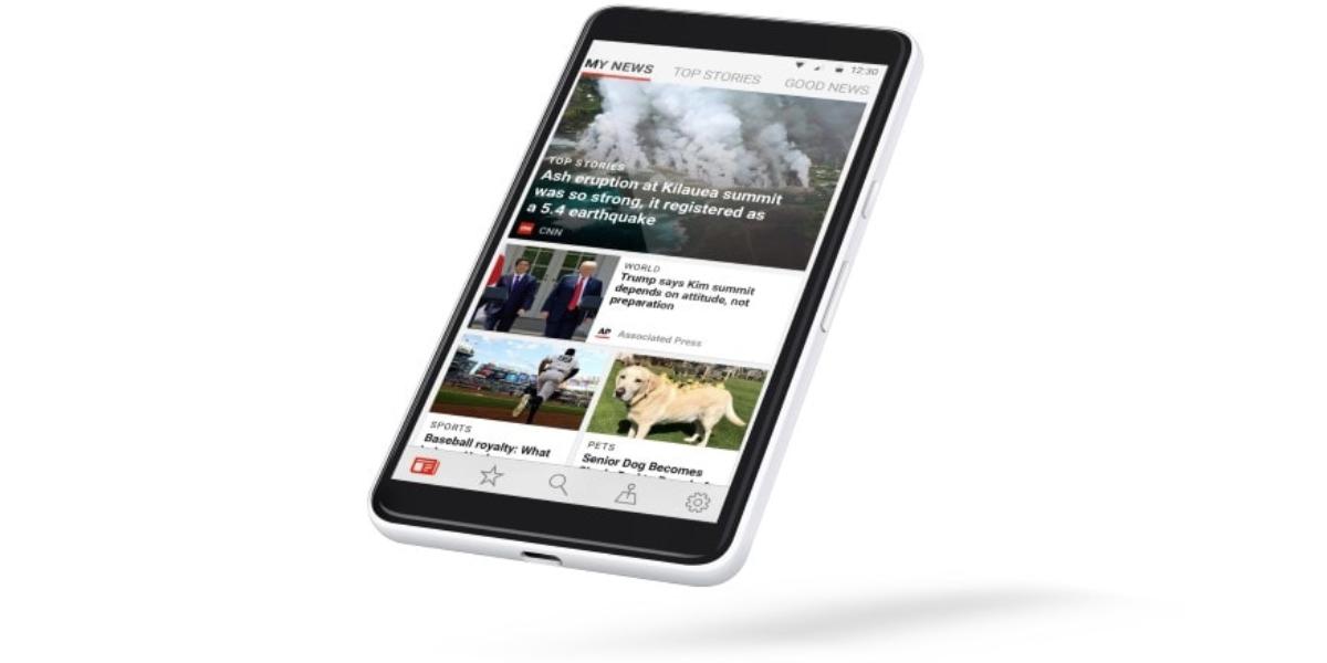 Microsoft News app