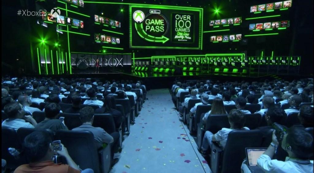 Microsoft's Xbox press event at E3 2018.
