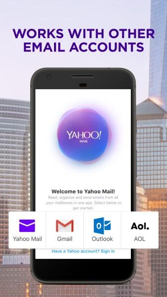 Yahoo Mail Go