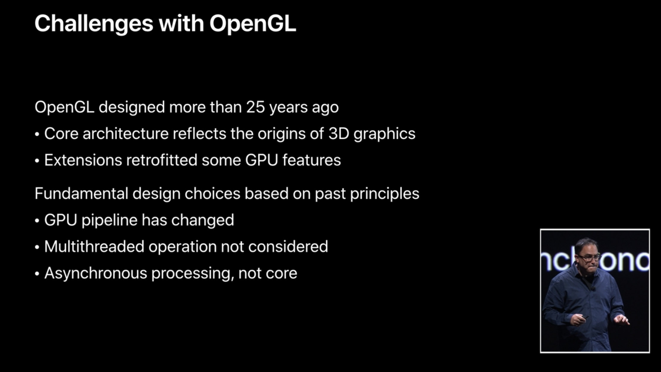Apple defends end of OpenGL as Mac game developers threaten to leave