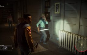 Two counselors try to call the police before Jason kills them.