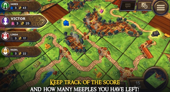 Asmodee's Carcassonne