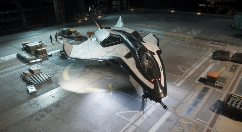 Avenger Titan ship in Star Citizen.