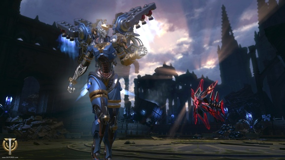 Skyforge is one of the games in Mail.ru's portfolio.