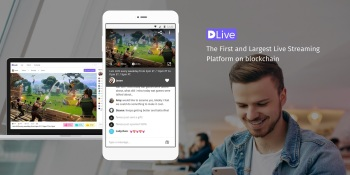 DLive is a blockchain-based livestreaming platform.
