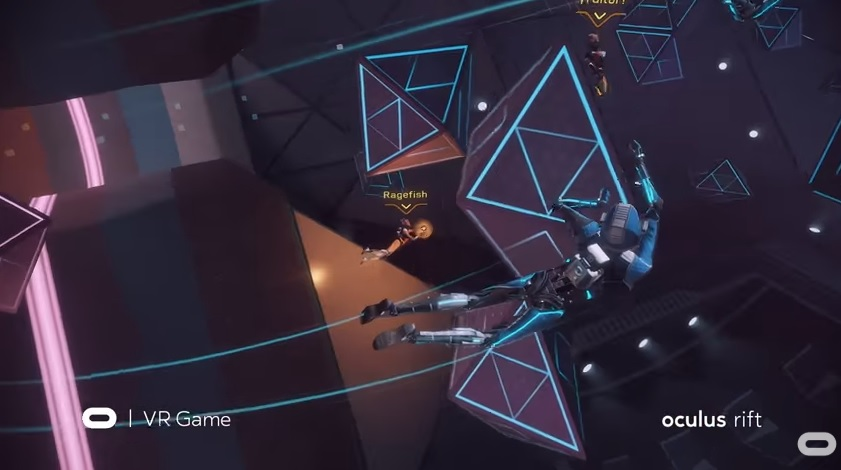 Echo Combat lets you fight in zero gravity.
