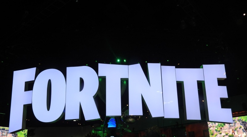 Fortnite booth at E3 2018.