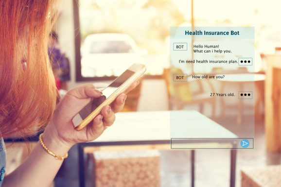 Why insurance companies are betting big on AI-powered chatbots