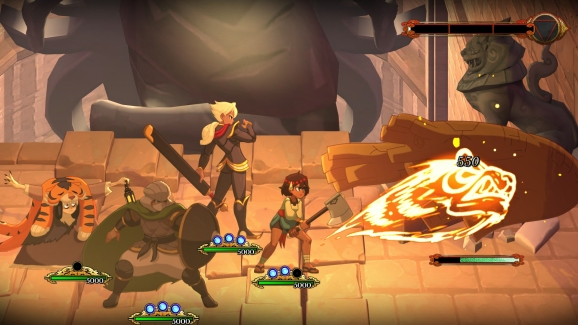 Combat in Indivisible.