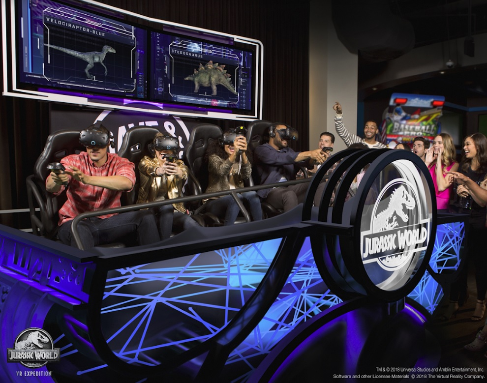 VRstudios launches Jurassic World VR attraction at Dave & Buster's restaurants