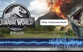 Jurassic World Revealed is an Amazon Alexa skill game.